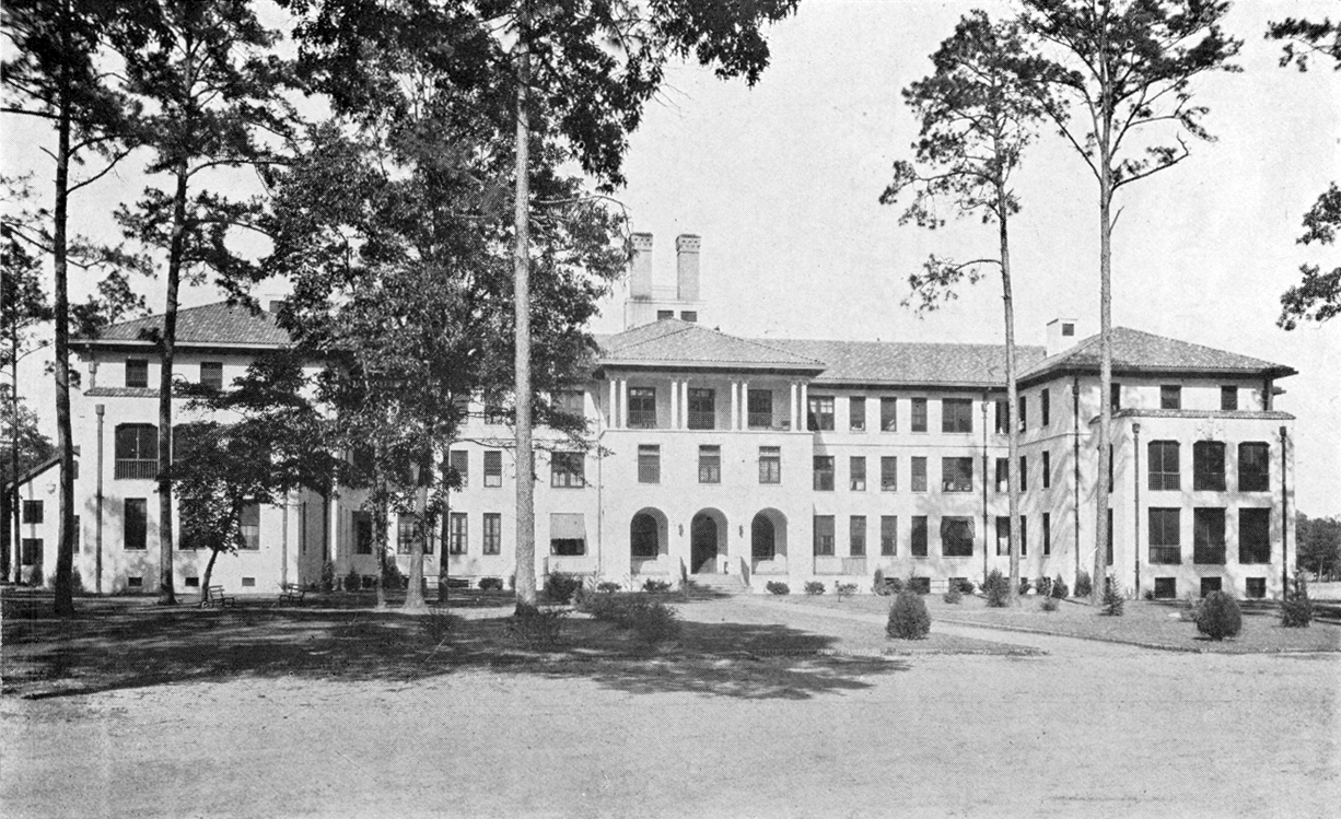 Front of Hospital 1925
